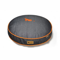 Urban Denim Round Dog Bed