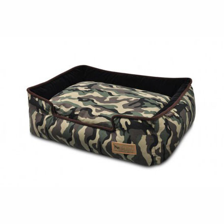 Camouflage Lounge Dog Bed