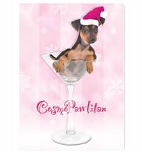 Puppy Cosmopawlitan Holiday Card