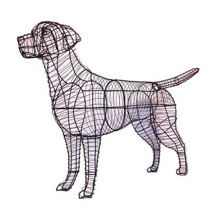 Labrador Retriever Dog Topiary