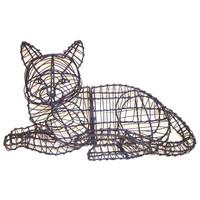 Lying Cat Topiary