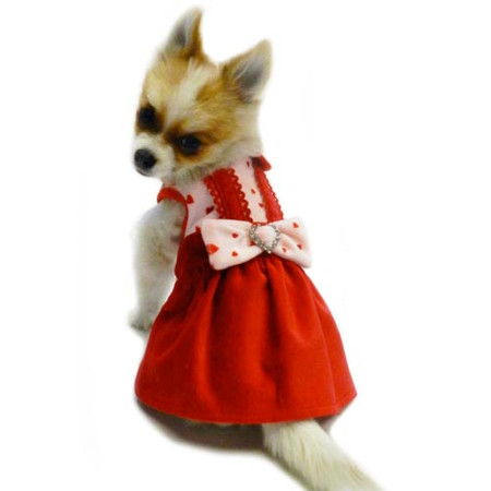 Ruff Ruff Couture Valentine Dog Dress