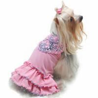 Oscar Newman Craving Cotton Candy Dress