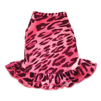 Pink Cheetah Dog Dress