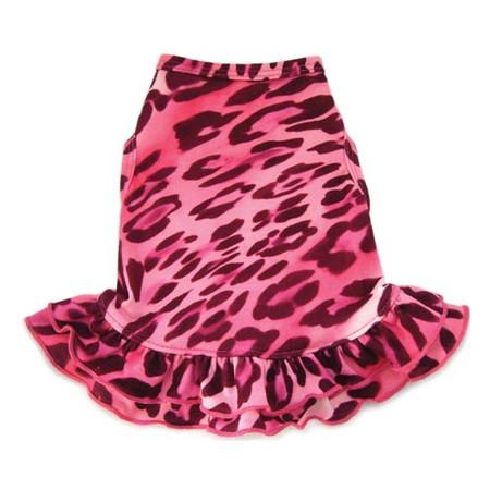 Pink Cheetah Dog Dress