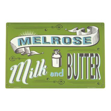 Melrose Milk Dog Placemat