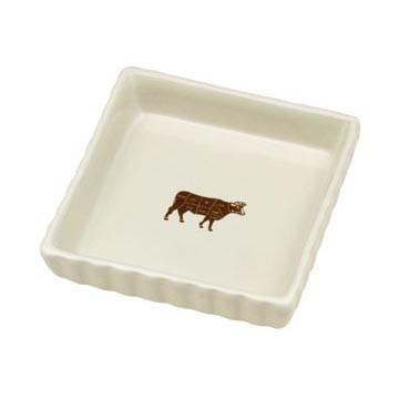 Mini Cow Pet Bowl