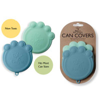 Paw Can Cover Set Light Blue & Blue