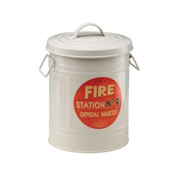 Fire Station No. 9 Treat Bin