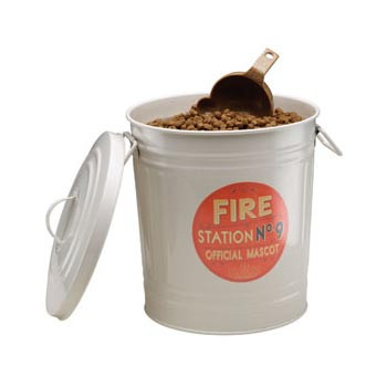 Fire Station No. 9 Food Bins
