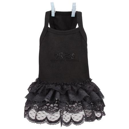 Louisdog Black Dress