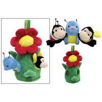 Peek-a-Boo Flower Friends Toys