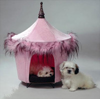Posh and Pink Tent Bed