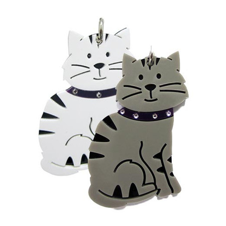 Love My Breed Acrylic Cat Keychains