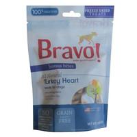 Bravo Bonus Bites Freeze Dried Turkey Hearts Treats