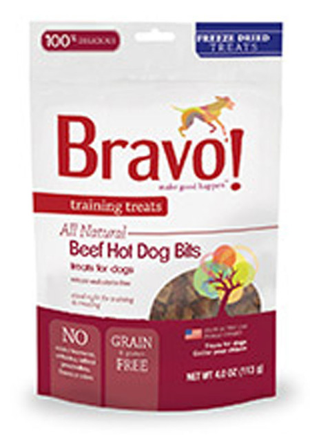 Bravo All Beef Hot Dog Training Treats