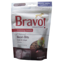 Bravo Freeze Dried Buffalo Bites Training Treats