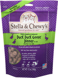 Stella & Chewy's Duck Duck Goose Freeze Dried Cat Food