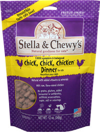 Stella & Chewy's Chick, Chick Chicken Freeze Dried Cat Food