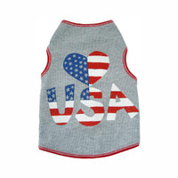 Heart USA Tank Top