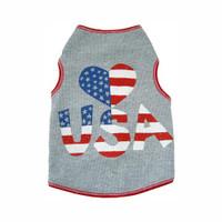Heart USA Tank Top
