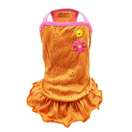Orange Blossom Eyelet Dress