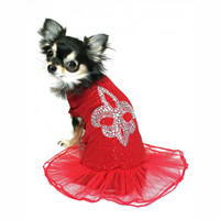 Red Fleur Dis Lis Ballerina Dress
