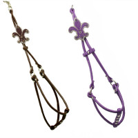 Fleur de Lis Step In Harness