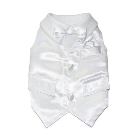 White Dog Tux