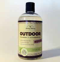 Dirty and Hairy Outdoor Shampoo with Citronella