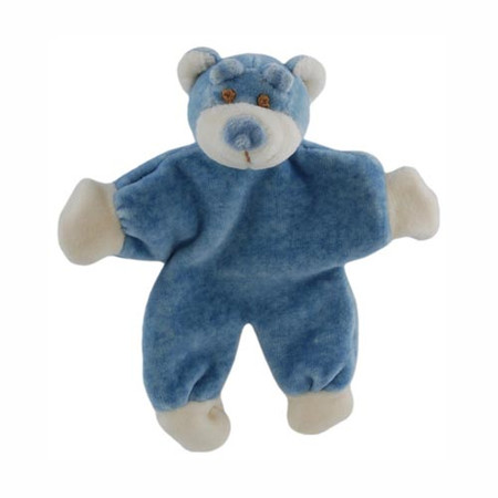 Beginnings Stuffless Bear Organic Toy