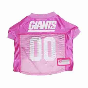 New York Giants Pink Dog Jersey