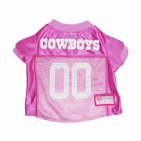 Dallas Cowboys Pink Dog Jersey