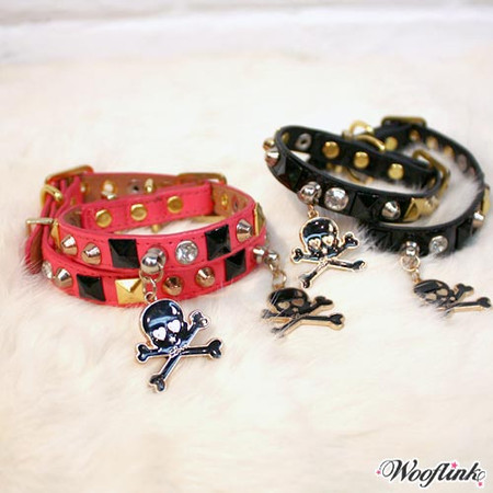 Wooflink Rock & Roll Collar and Leash Set
