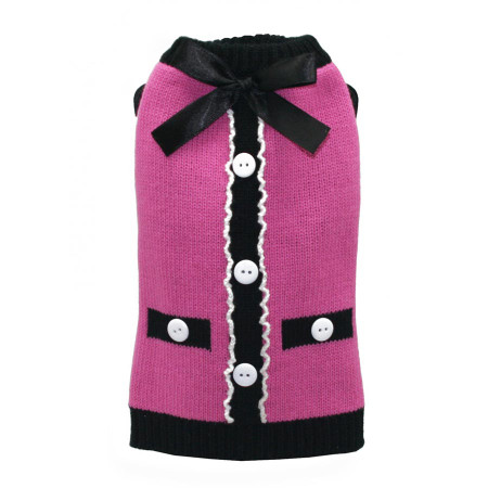 The Socialite Pink Cardigan