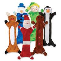 Festive Unstuffies Dog Toys