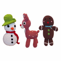 Organic Holiday Knit Knacks