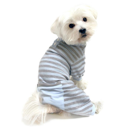 Classic Striped Dog Pjs