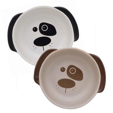 Scruffy Dog Face Bowl