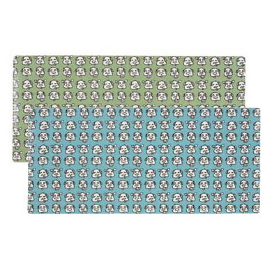 Dog Face Pattern Skinny Placemats