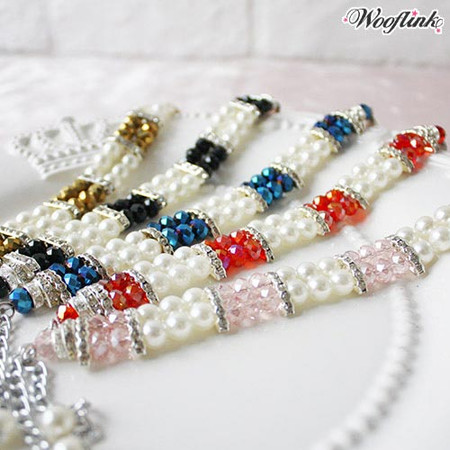 Wooflink Pearls and Candies Necklace