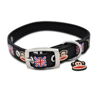 Paul Frank Union Jack Rubberized Collar