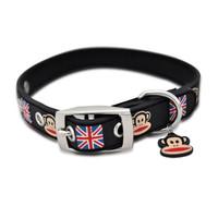 Paul Frank Union Jack Rubberized Collar