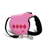 Avant Garde Retractable Dog Leash (Preppy)