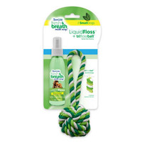 TropiClean Fresh Breath LiquidFloss Triflossball