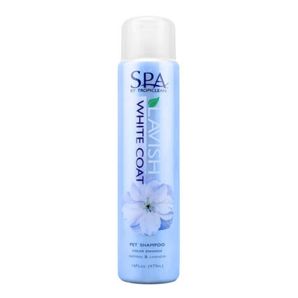 SPA Lavish White Coat Shampoo by Tropiclean