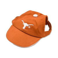 Texas Longhorns Dog Cap