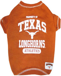 Texas Longhorns Dog Tee