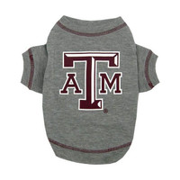 Texas A&M Aggies Dog T-Shirt