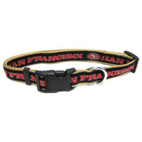 San Francisco 49ers Dog Collar - Alternate